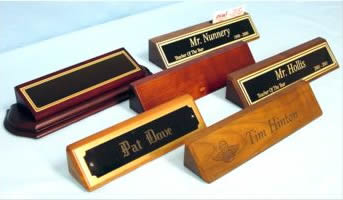 We can engrave all your company nameplates