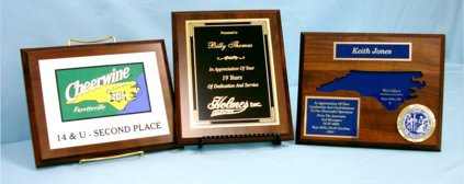 A plaque is a great way to commemorate any occasion